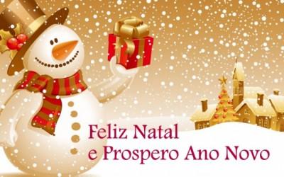 Bom Natal e Bom Ano 2018!